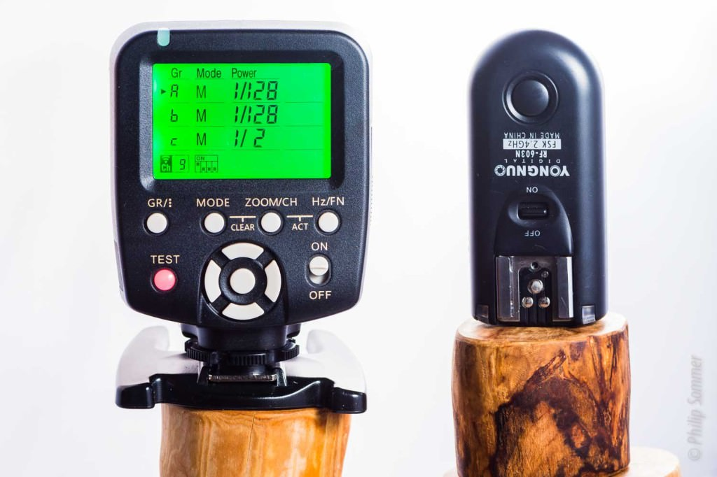 Yongnuo YN560-TX und RF603 Trigger (Nikon versions)