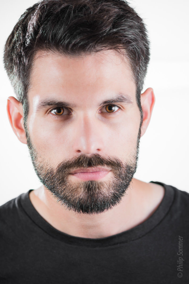 Headshot Session mit Sergio